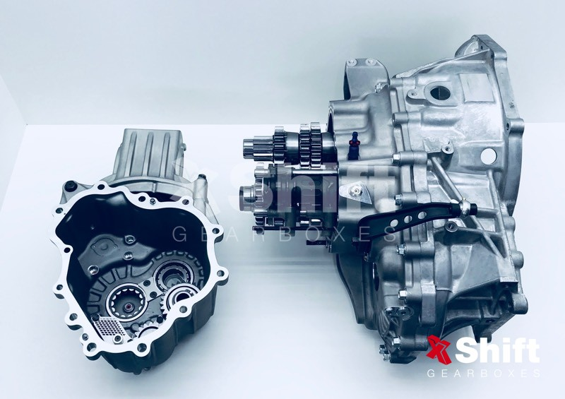 Mitsubishi Sequential Gearbox Evo 4 - 9, X 6 speed | xShift Gearboxes