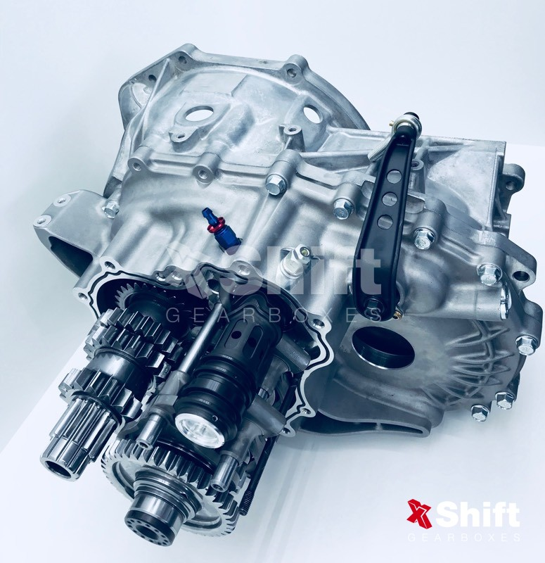 Mitsubishi Sequential Gearbox Evo 4 - 9, X 6 speed | xShift