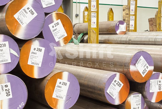 Our stock of material